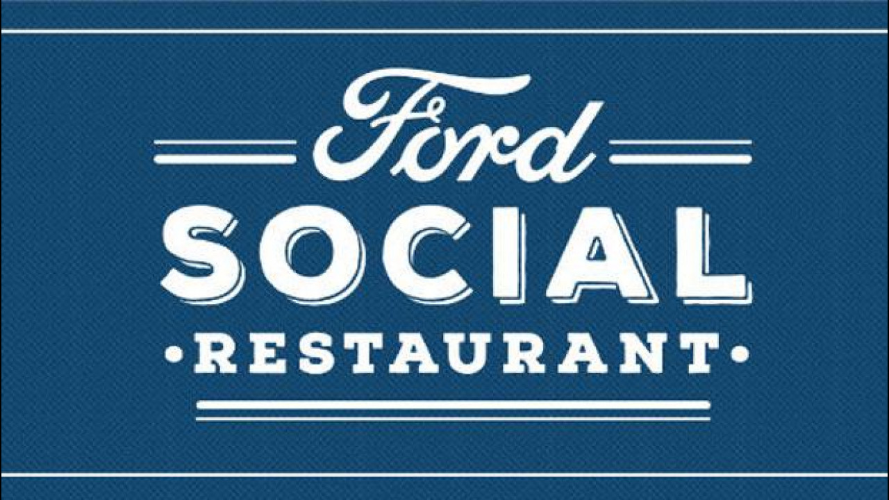 [Copertina] - Ford lancia il Social Restaurant