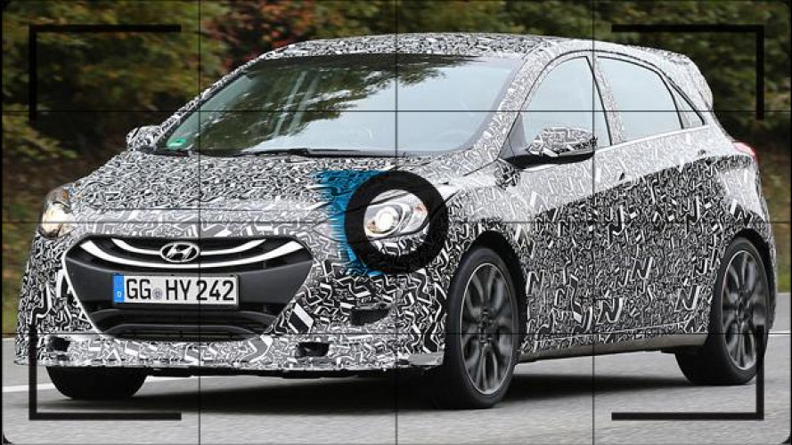 Hyundai i30 N, ecco le foto spia