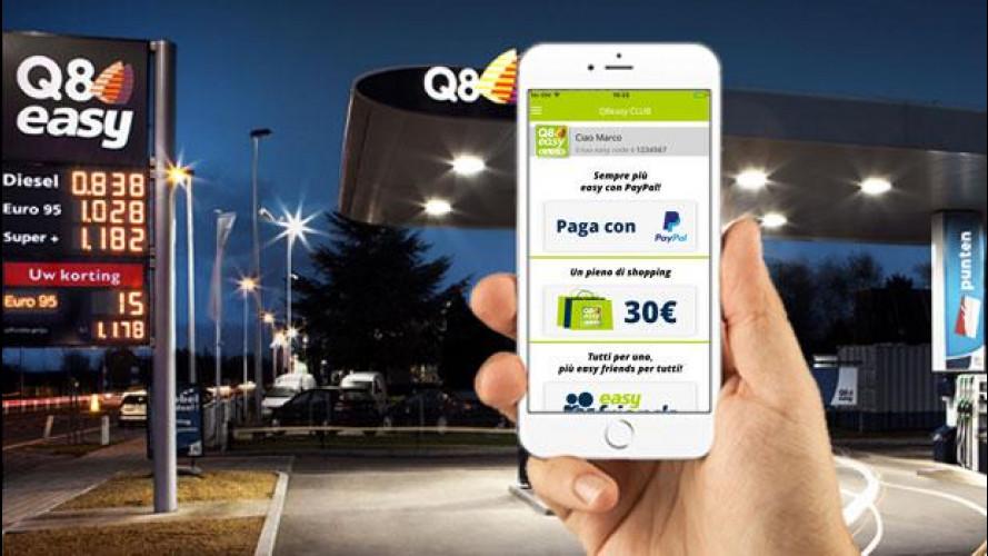 [Copertina] - Nei distributori Q8 il pieno si paga con lo smartphone e Paypal