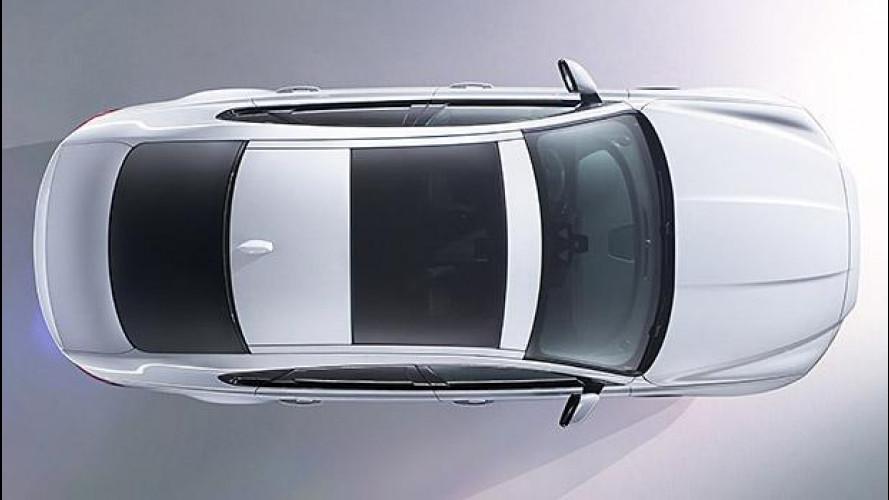 Nuova Jaguar XF, le prime foto