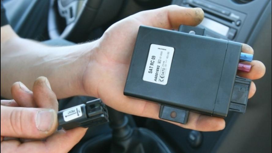 Scatola nera in auto, installazioni quadruplicate in 5 anni