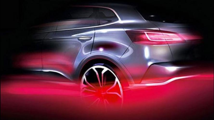 Borgward, il primo teaser del SUV della rinascita