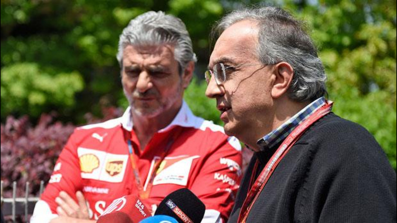 "[Copertina] - F1, Marchionne e Ferrari: ""La macchina c'è"""