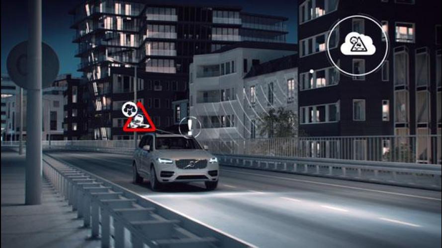 Volvo Slippery Road Alert, verso l'auto a connessione totale