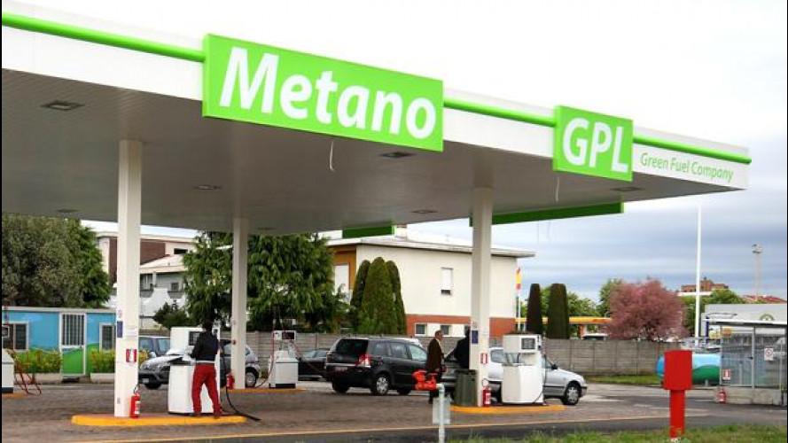 Auto a metano: ora i distributori sono 1000