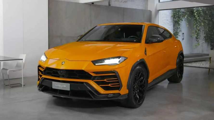 Lamborghini Urus, i nuovi accessori in fibra di carbonio