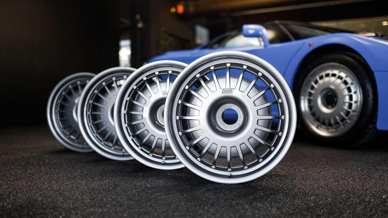 Original Bugatti EB110 GT BBS Wheels Up For Auction