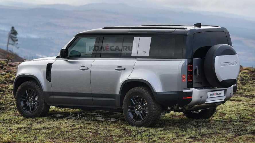 Nuevo Land Rover Defender 130 (render)