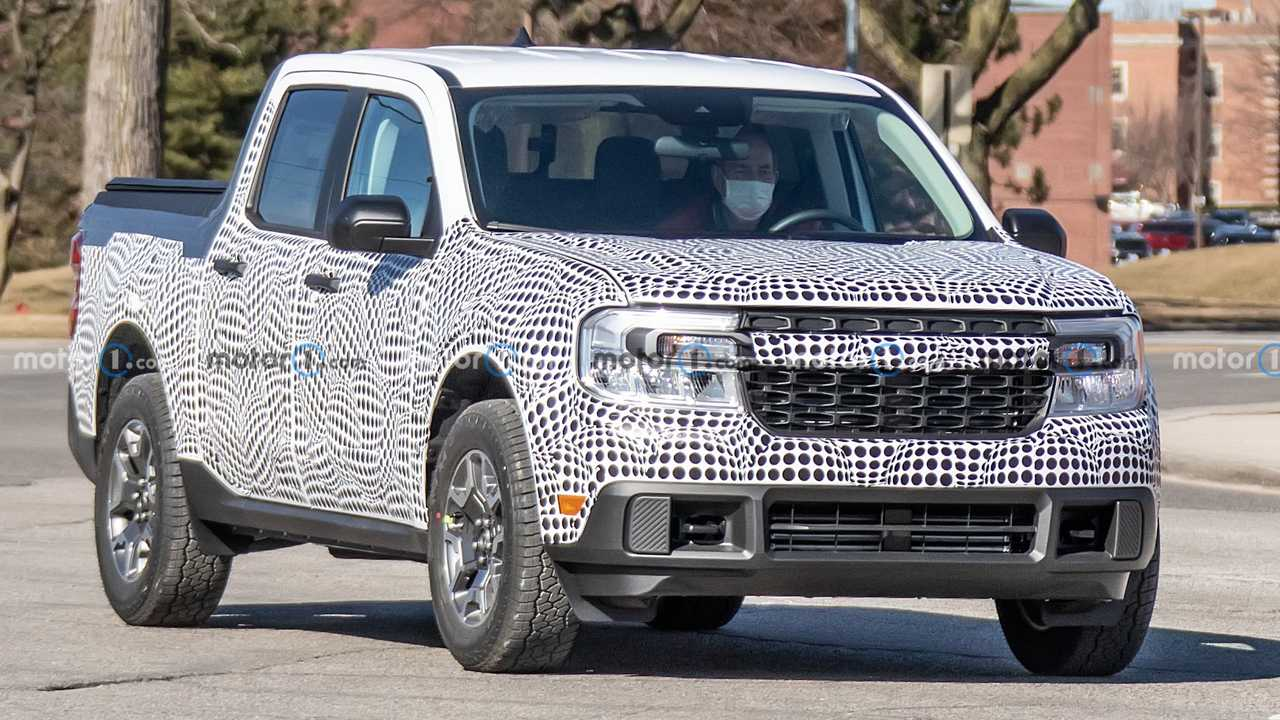 2022 Ford Maverick hybrid powertrain rumors.