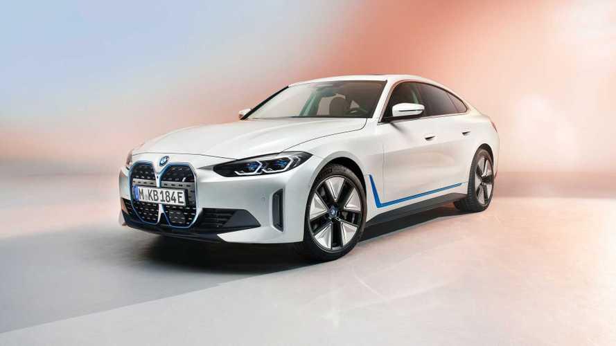 Hivatalos képeken mutatkozott be a BMW i4