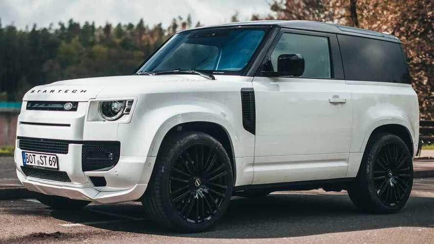 Land Rover Defender, Startech la rende più SUV e meno fuoristrada