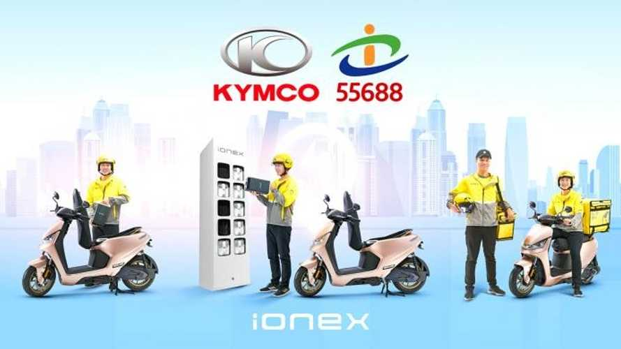KYMCO To Convert Taiwan Taxi's Scooter Delivery Service to Electric