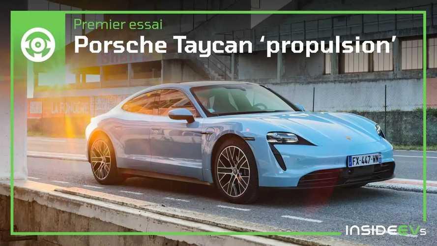 """Essai Porsche Taycan - La plus puissante des Porsche de """"base"""""""