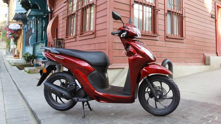 Yeni Honda Dio Türkiye'de satışa sunuluyor