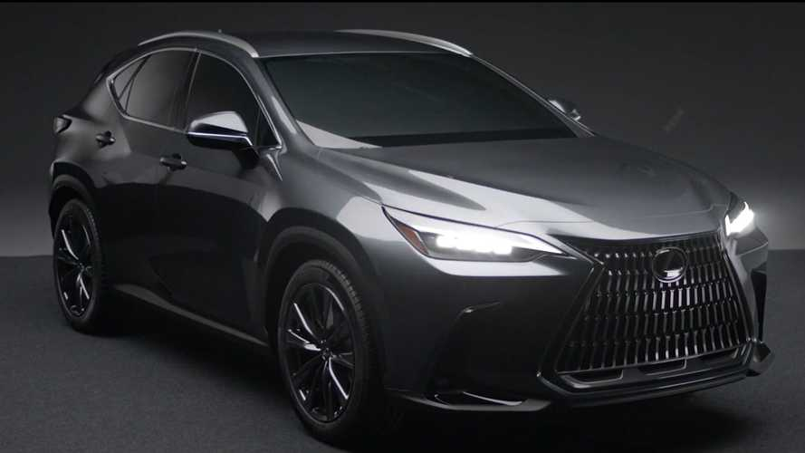 2022 Lexus NX Leaked In Official Video, See It Inside And Out