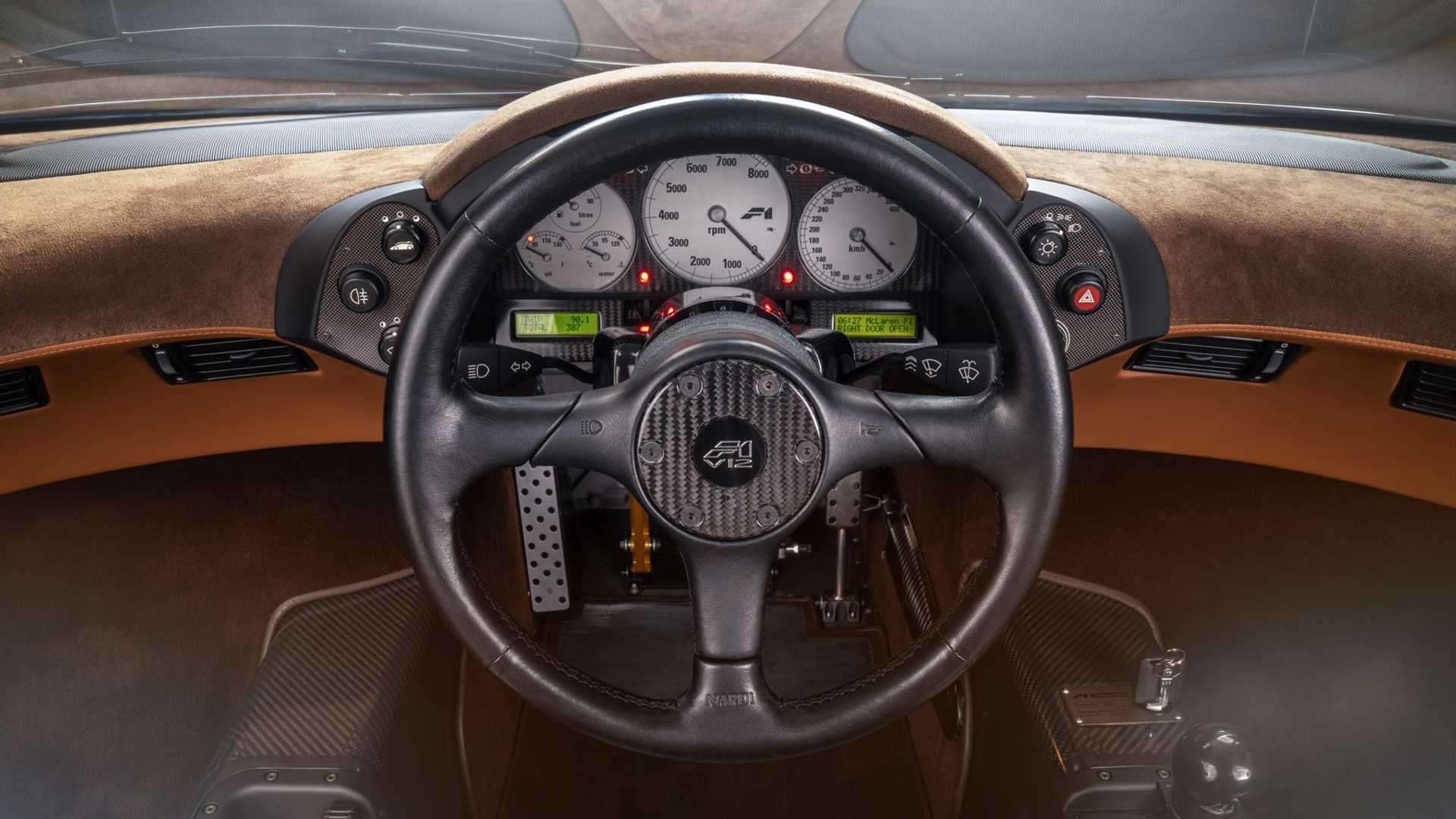 1995 McLaren F1 Gooding And Company Auction 2020 Instruments