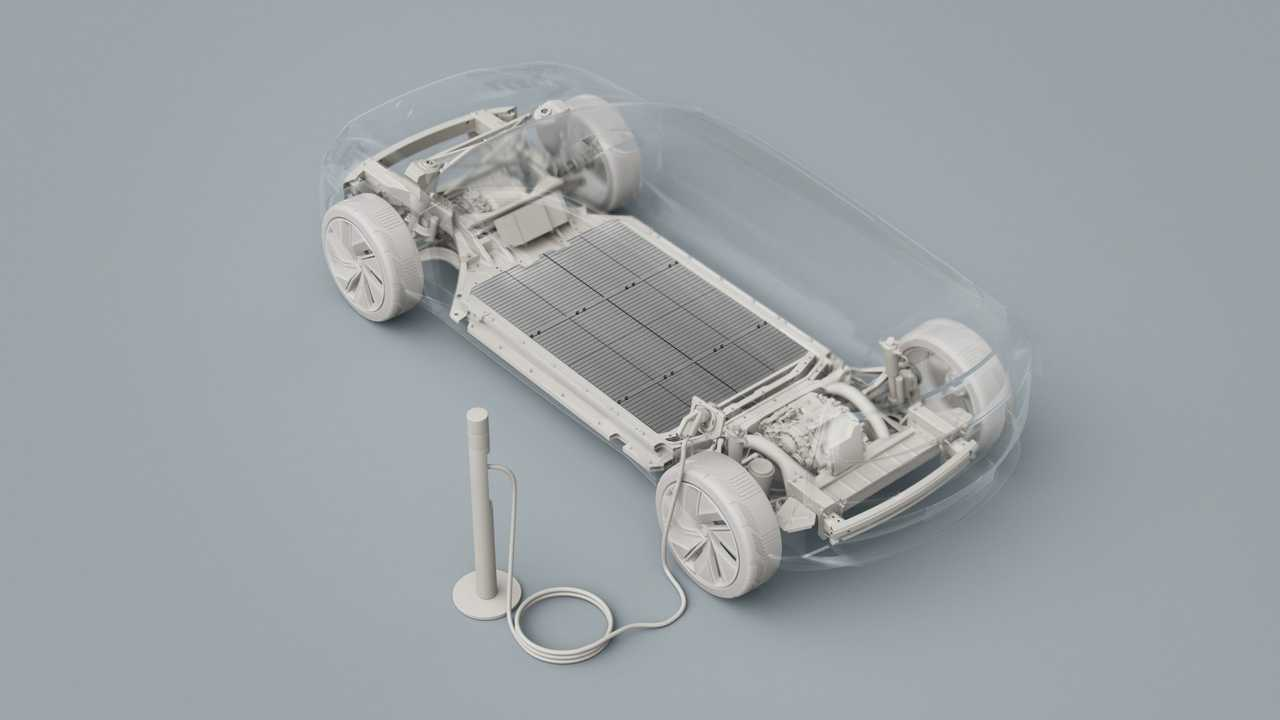 Volvo Car Group battery-electric car