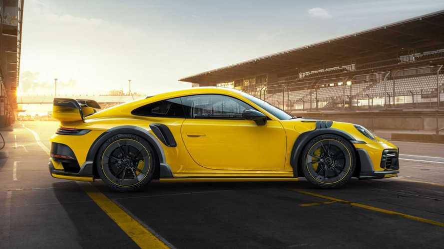 Jusqu'à 800 ch pour la Porsche 911 Turbo S préparée  par TechArt