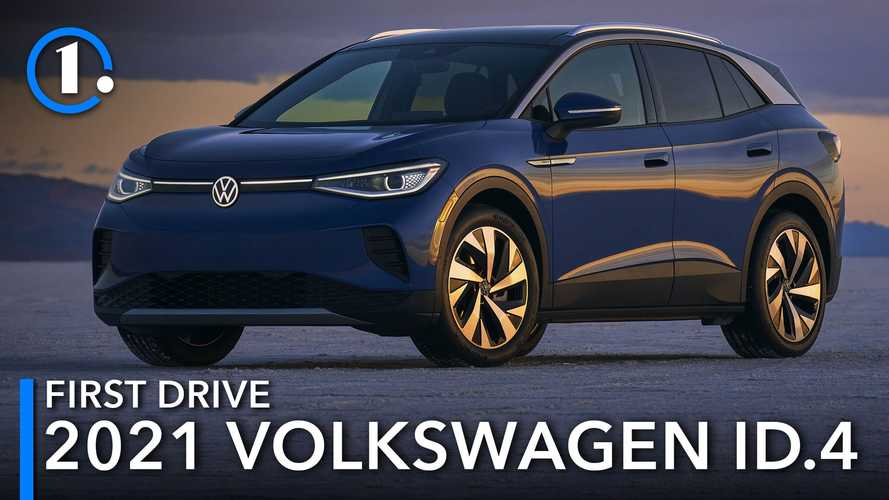 2021 Volkswagen ID.4 First Drive Review: Think Electric