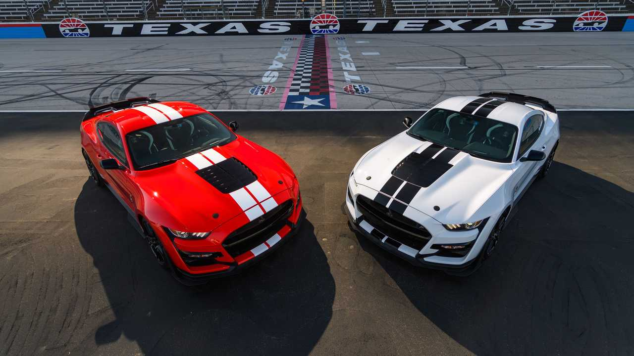 Ford Performance Parts on a Mustang Shelby GT500