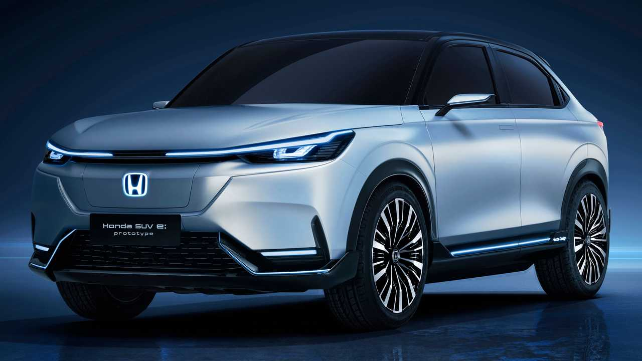 Honda SUV E:Prototype front three-quarters perspective