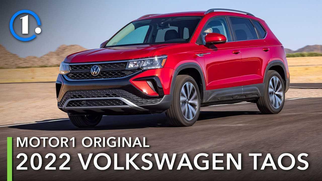 The 2022 Volkswagen Taos handles the desert.