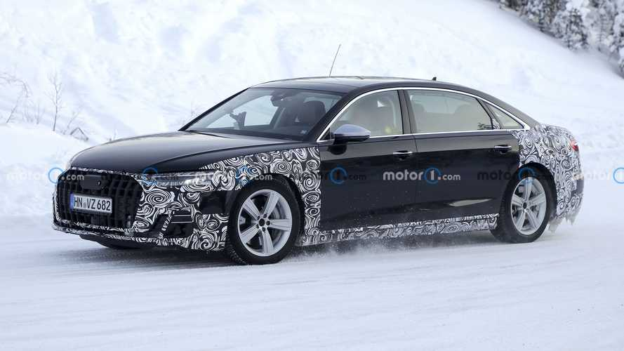 2021 Audi A8 L Horch, bir kez daha görüntülendi!