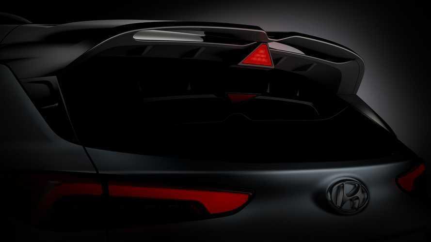 Hyundai Kona N Teaser Images