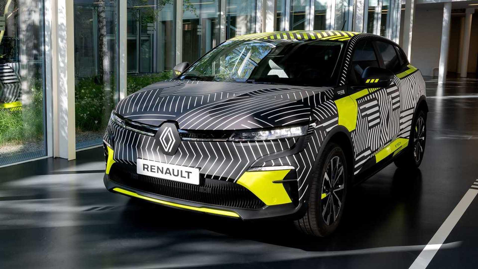 Renault Megane E-Tech elétrico
