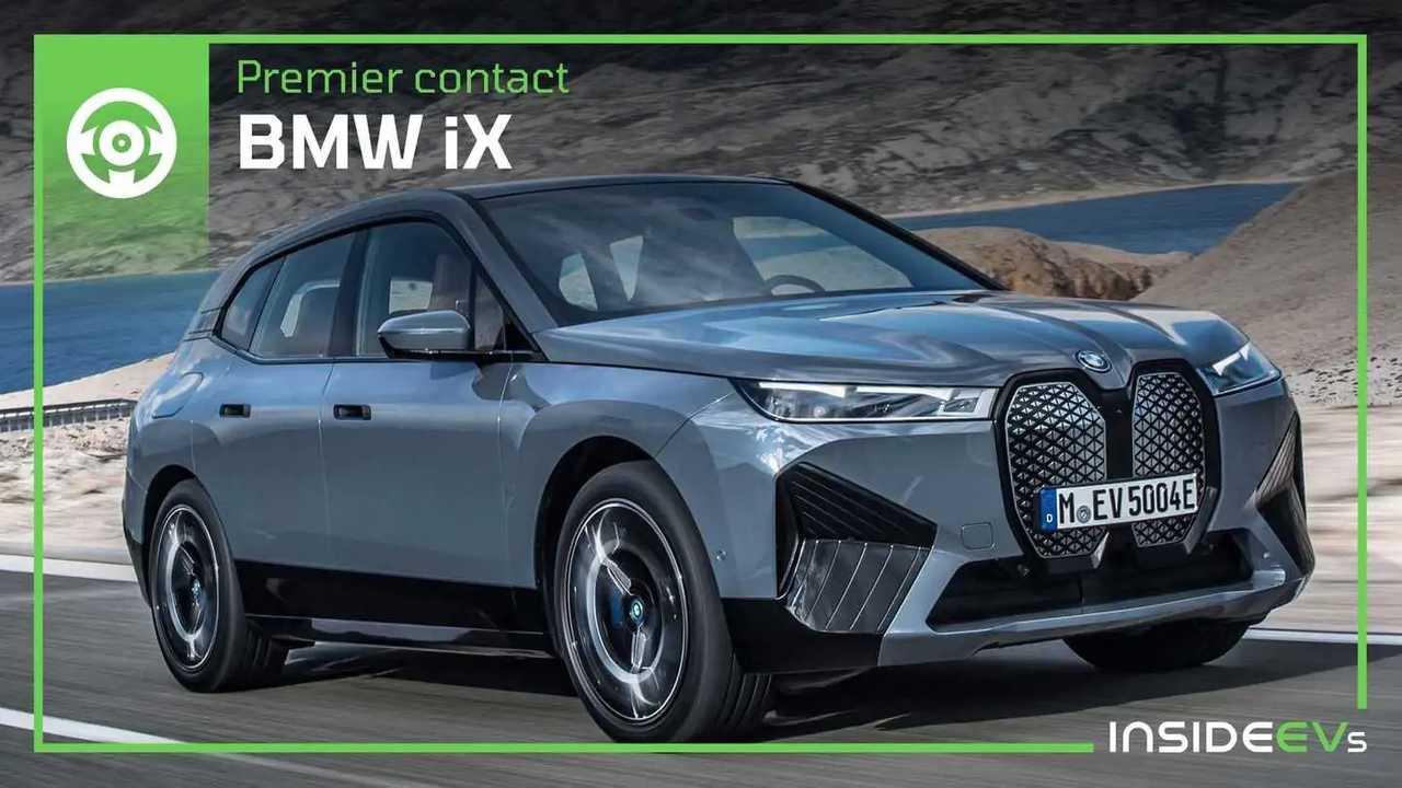 Premier contact avec le prototype de BMW iX