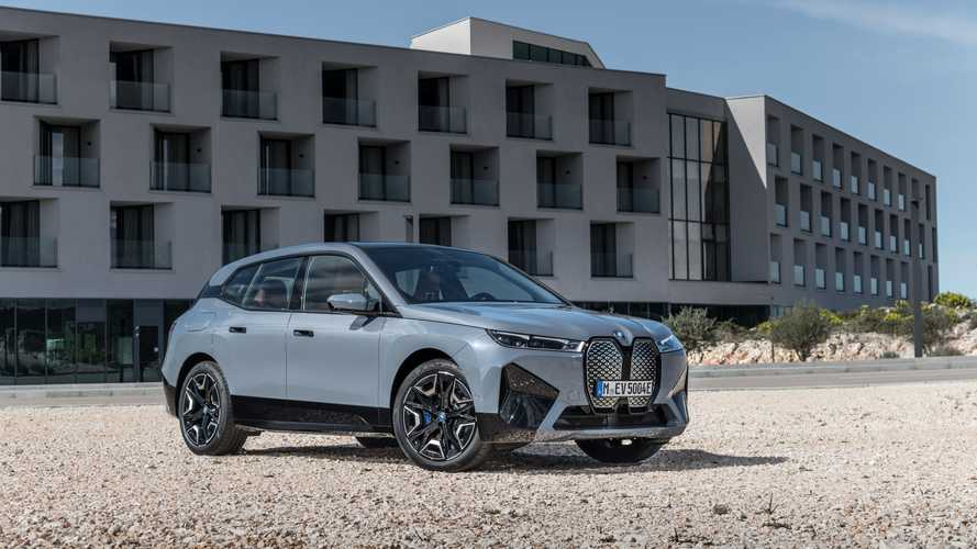 BMW iX Electric SUV Detailed, Will Start At $83,295