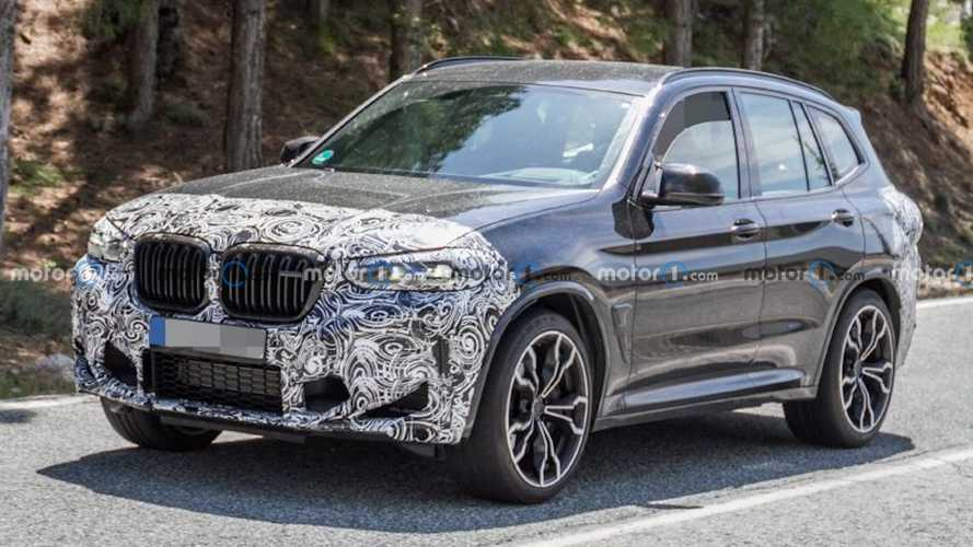 2022 BMW X3 M Facelift Spied Testing On Public Roads Again