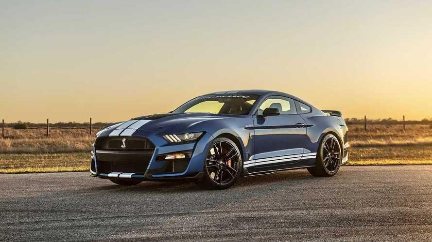 Mustang Shelby GT500 vai a 1.013 cv com preparação da Hennessey
