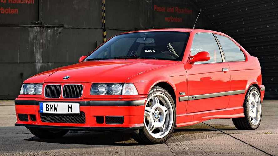 Megmutatta a BMW az egyetlen legyártott E36-os M3 Compactot