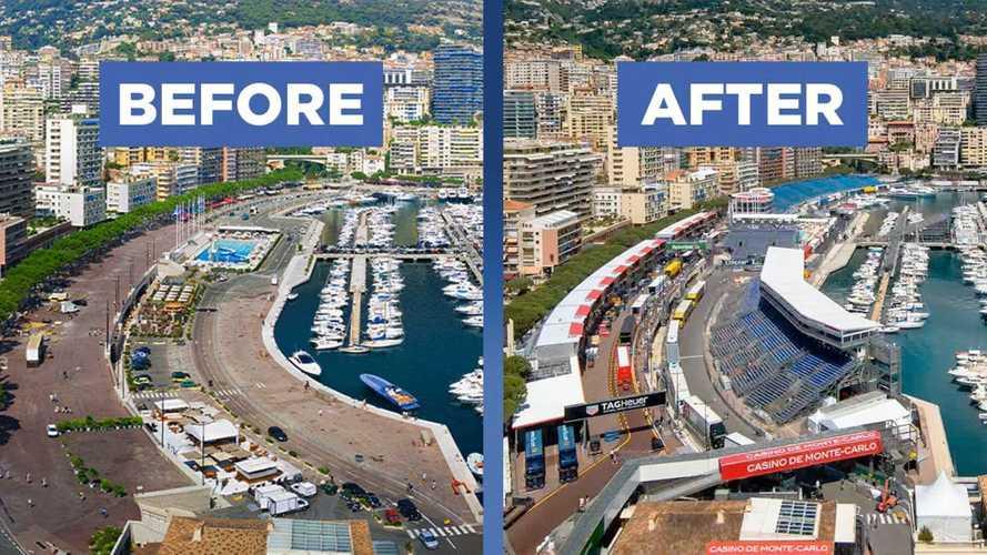 Watch How Monaco Transforms To Host The Formula 1 Grand Prix
