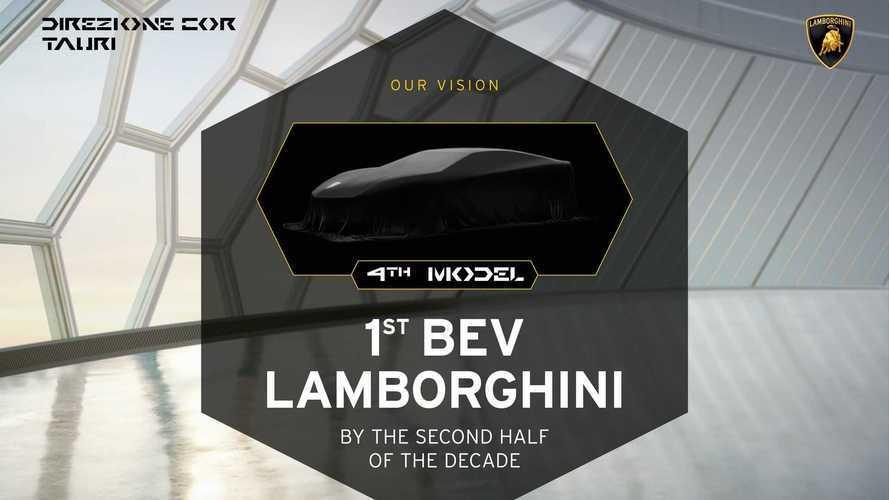 Todos los Lamborghini estarán electrificados antes de 2024