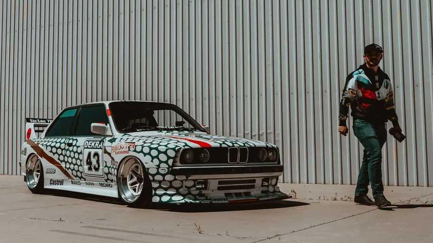 BMW M3 E30 con decoración Tic Tac