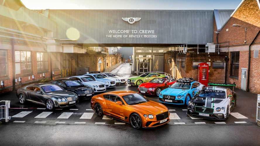 Bentley отпраздновала выпуск 200-тысячного автомобиля