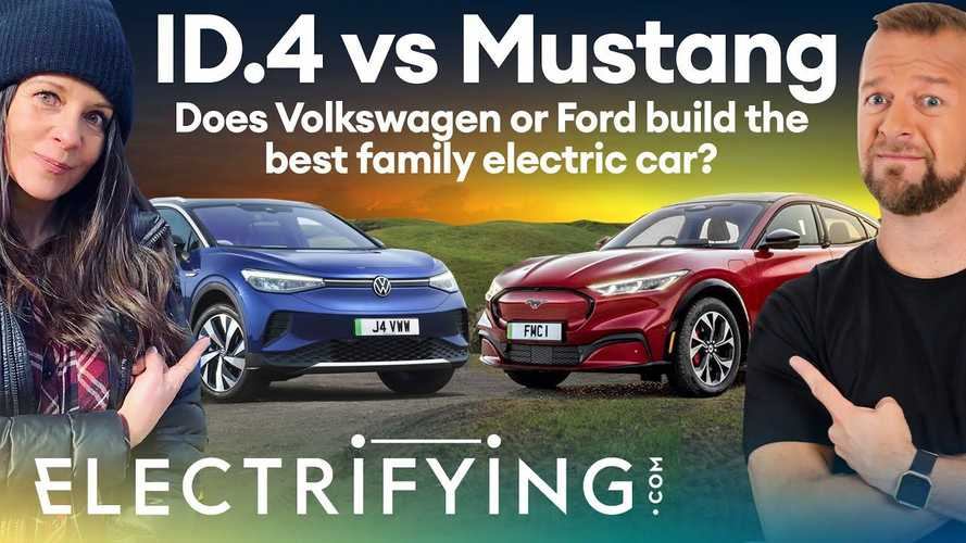Which Is The Best EV Crossover? Ford Mustang Mach-E Vs Volkswagen ID.4
