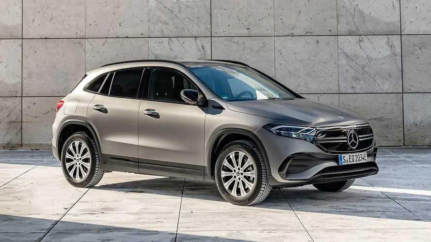 Mercedes EQA, in arrivo le versioni più potenti e 4x4