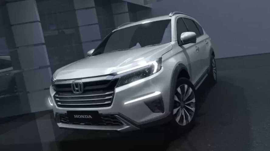Novo Honda N7X Concept antecipa SUV de 7 lugares para emergentes