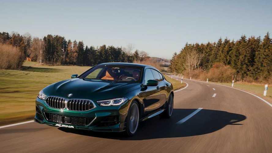 BMW 8 Serisi GC'ye Alpina dokunuşu: B8 Gran Coupe