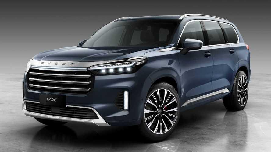 Exeed VX Lanyue estreia como SUV topo de linha da divisão premium da Chery