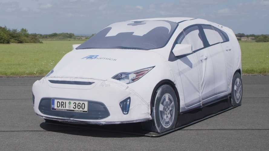 Automakers Use This Fake Car To Test Safety Systems, And It's Amazing