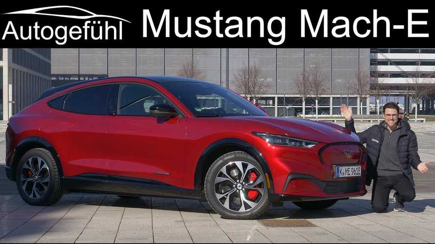 Autogefühl Checks Out The Ford Mustang Reinvented As An EV: Mach-E