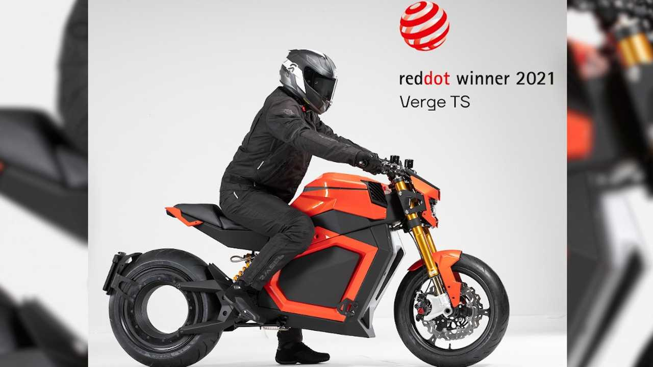Verge Motorcycles Bags 2021 Red Dot Award For Product Design