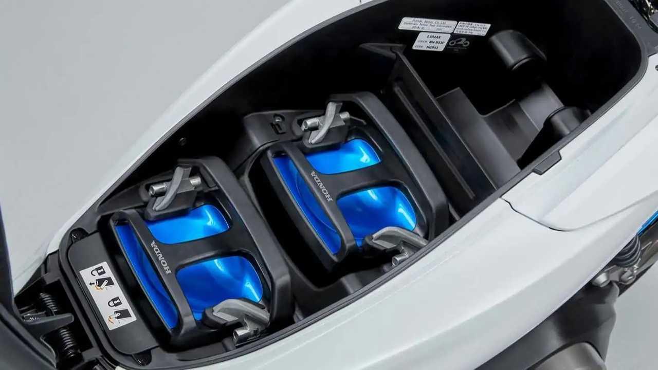 Honda uji coba paket baterai portabel.