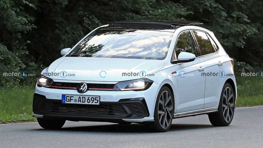 VW Polo GTI Facelift (2021) zum ersten und letzten Mal erwischt
