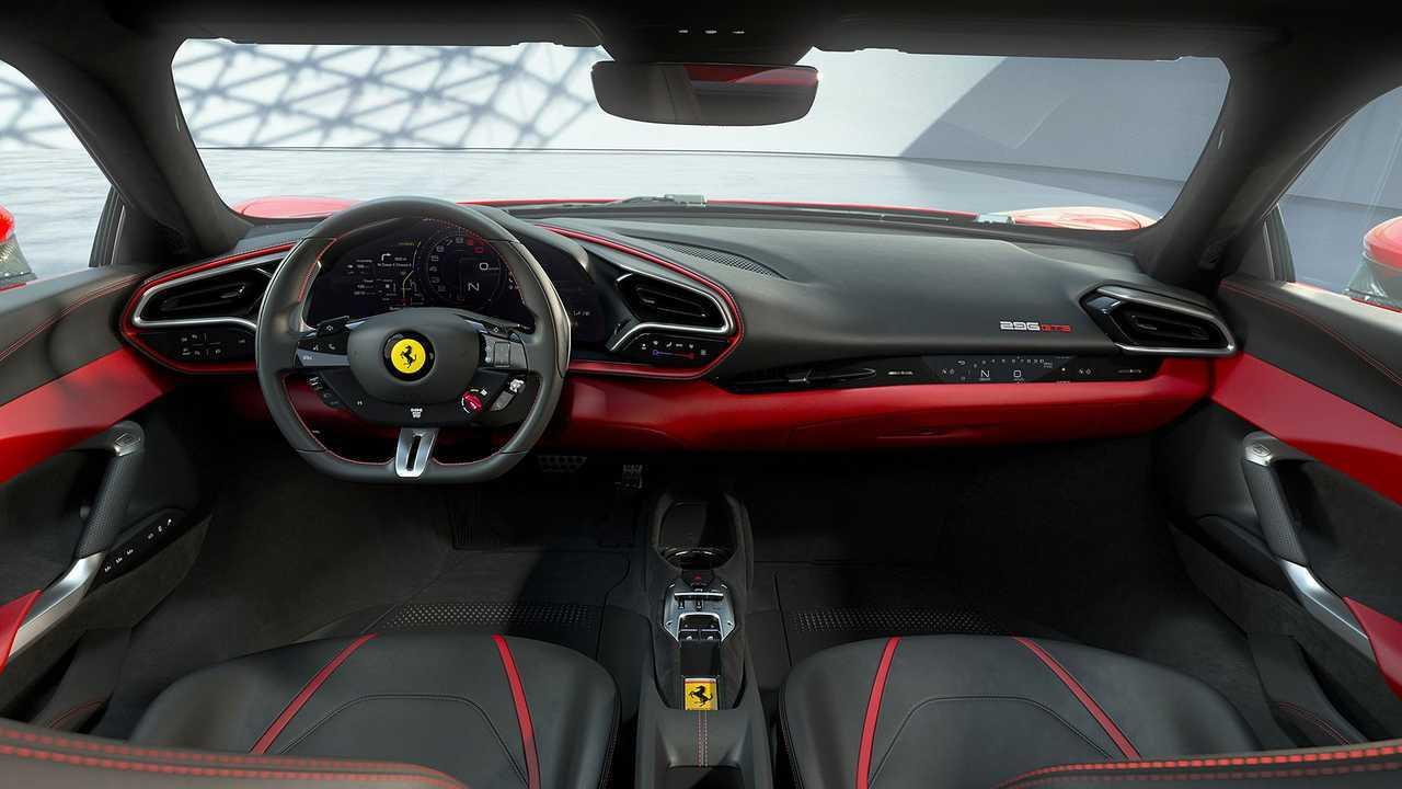 Ferrari 296 GTB, motore V6 ibrido, interni, prestazioni, prezzo