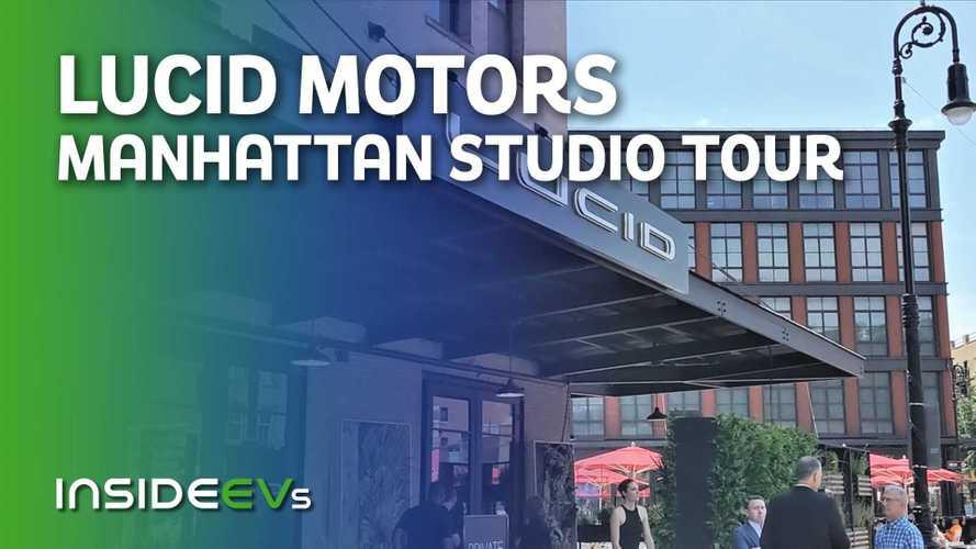 Lucid Motors Manhattan Studio Tour And Air Grand Touring Walkaround
